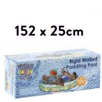 152x25cm PRINTED RIGID PVC POOL (Pools)