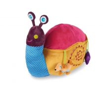 Oops Soft Friend! Snail Large Plush Sensory Toy
