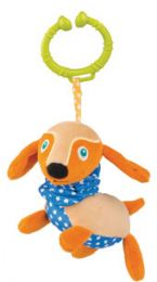 Oops Easy-Long Friends! Dog Vibrating Toy