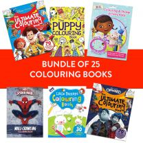 Pack of 25 Assorted Disney Colouring Books