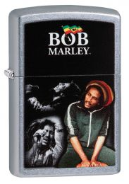Zippo Street Chrome Bob Marley, Memorable Moments Lighter
