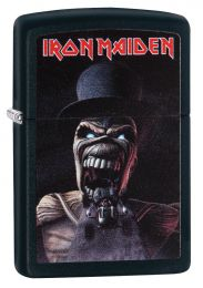 Zippo Black Matte Iron Maiden, Wildest Dreams Lighter