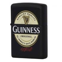 Zippo Guinness Black Matt Lighter