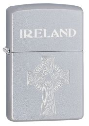 Zippo Celtic Cross Chrome Lighter