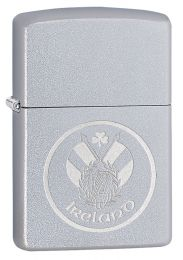 Zippo Ireland Flag Chrome Lighter