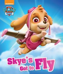 Nickelodeon Paw Patrol Skye's Got To Fly Picture Flat Storybook