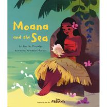 Disney Moana: Moana And The Sea Picture Flat Storybook