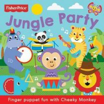 Fisher Price Jungle Party Finger Puppet