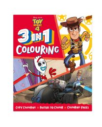 Disney Toy Story 3 in 1 Colouring Book