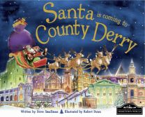 Santa Is Coming To Derry Localised Hardcover Storybook