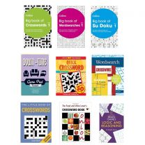 72 Adult Puzzle Books Bundle