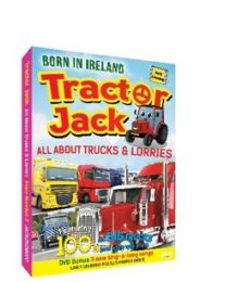 Tractor Jack - All About Trucks & Lorries DVD