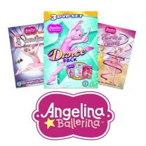 Angelina Ballerina Animated DVD Bundle