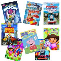 Pack of 25 Animated Assorted Kids DVDs