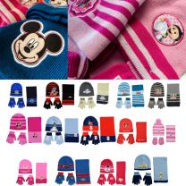 48 Kids Hat, Scarf & Glove Sets Disney Frozen, Paw Patrol Assorted