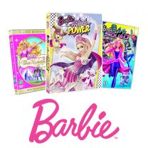 BARBIE ANIMATED DVD BUNDLE