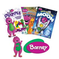 BARNEY ANIMATED DVD BUNDLE