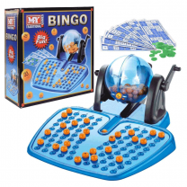 Large Bingo Set In Colour Box