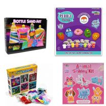 Assorted Craft Sets: 4 Designs, 48 pieces