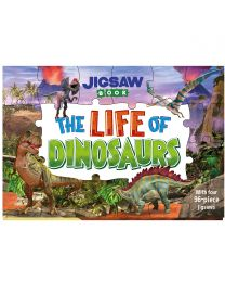 Jigsaw Book: The Life of Dinosaurs
