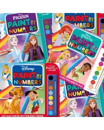 Disney Paint by Numbers Collection