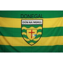 GAA Donegal Official County Crest Large Flag 5 x 5