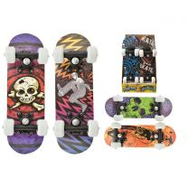 "16.5"" x 5"" Double Kick Skateboard Assorted Designs"