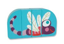 Oops Easy-Click! Dragonfly Wooden Magnetic Puzzles