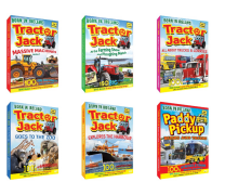 Tractor Jack & Paddy Pickup Kids Assorted DVDs