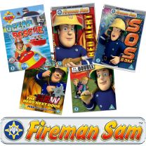 Fireman Sam-Pack of 25 Animated Assorted DVDs