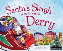 Santa's Sleigh Is On It's Way To Derry Localised Hardcover Storybook