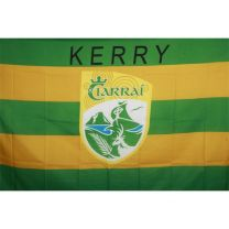 GAA Kerry Official County Crest Large Flag 5 x 9