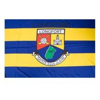 GAA Longford Official County Crest Large Flag 5 x 11