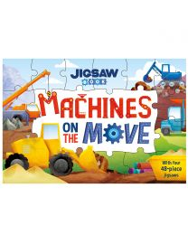 Jigsaw Book: Machines on the Move