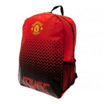 Manchester United Fade Backpack Official Merchandise