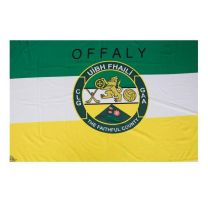 GAA Offaly Official County Crest Large Flag 5 x 12