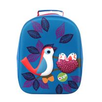 Happy Backpack Bird by Oops