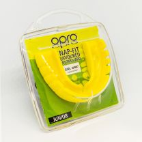 GAA Opro Snap-Fit Mouthguard For All Sports Junior - Lemon