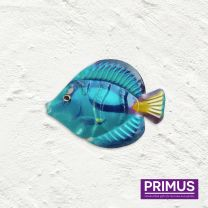 Primus Fish Wall Art - Blue Tang Handcrafted Wall Art.