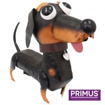 Primus Darcey the Dachshund Handcrafted Metal Ornament