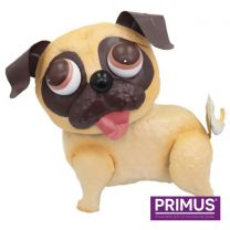 Primus Pablo the Pug Handcrafted Metal Ornament