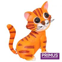 Primus Gerry the Ginger Cat Metal Sculpture (Bobble Buddies)