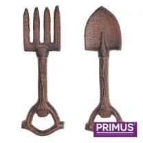 Primus Cast Iron Set of Two Garden Tool Bottle Openers
