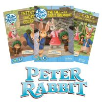 Peter Rabbit Animated DVD Bundle