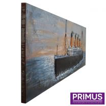 Primus Metal Ship Handcrafted Wall Art