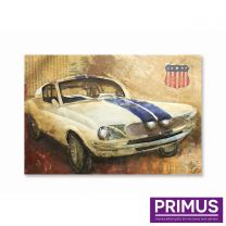 Primus American Muscle Handcrafted Wall Art