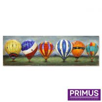 Primus Balloons of Colour Handcrafted Wall Art