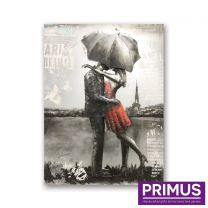 Primus Night in Paris Handcrafted Wall Art