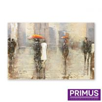 Primus Rainy Day Handcrafted Wall Art