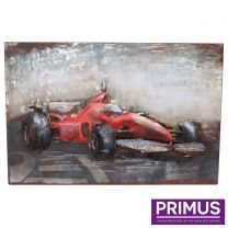 Primus Racing Red Handcrafted Wall Art